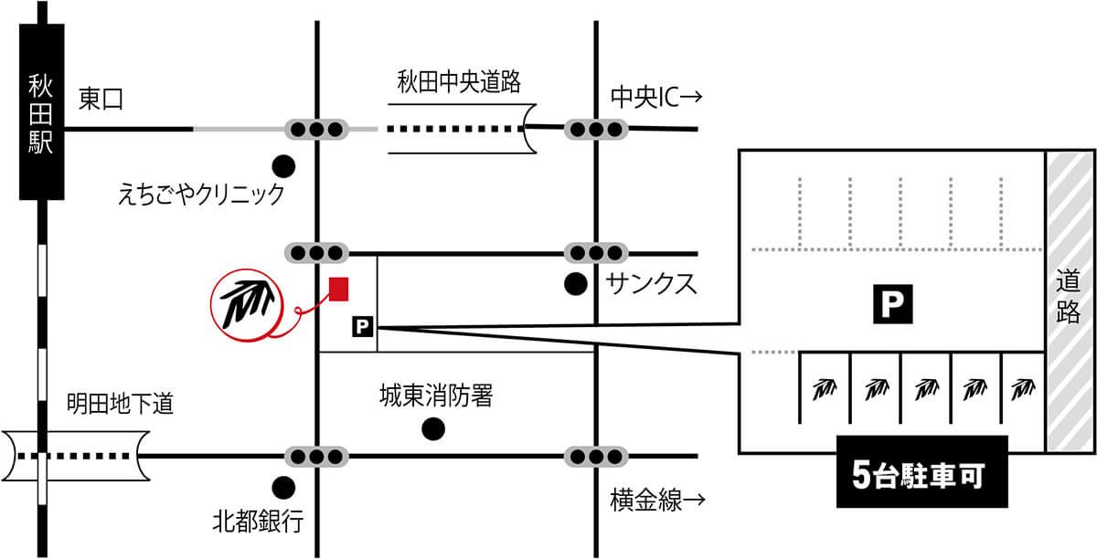 トライファクトリーデザイン地図