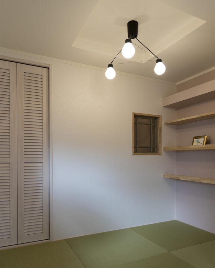 和室の照明事例1