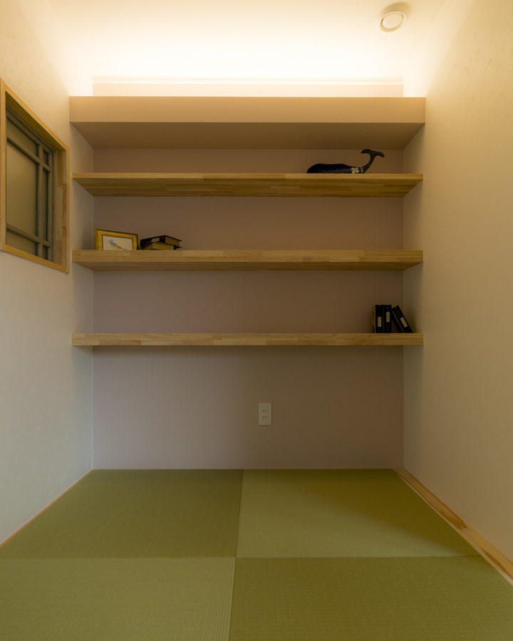 和室の照明事例2